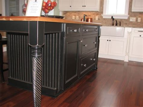 kitchen island legs wood kitchen islands with legs hybrids of farm tables and