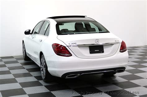 Air bags:frontal:passenger side:inflator module recall date: 2015 Used Mercedes-Benz C-Class CERTIFIED C300 4Matic AWD CAMERA PANO NAVIGATION at ...