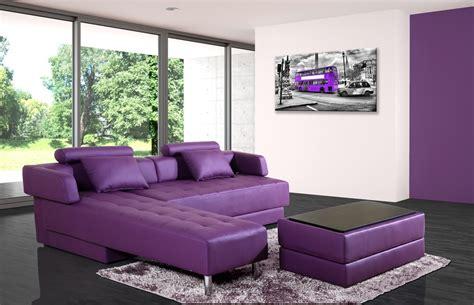canapé d angle natuzzi canapé d 39 angle cuir violet réversible et convertible largo