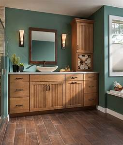 vanity shenandoah cabinetry in maple mocha cottage door With kitchen cabinets lowes with pin up girl wall art