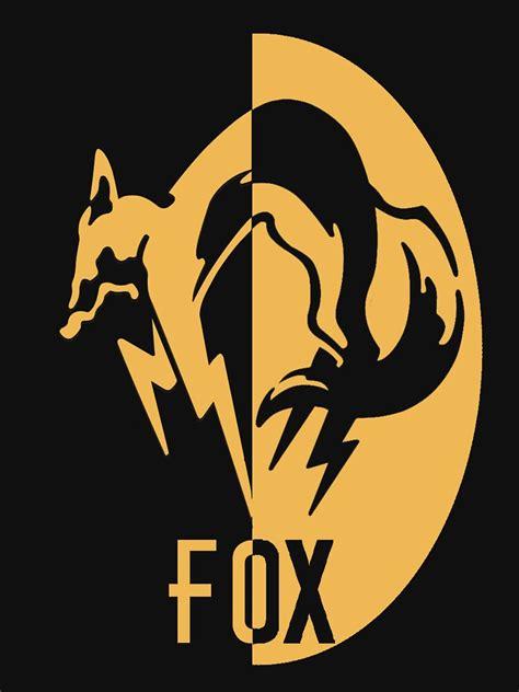 foxhound logo  shirt  cullbot redbubble