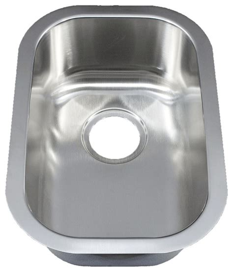 Small Bowl Stainless Steel Sinks by 12 Quot Ellis Stainless Steel Undermount Kitchen Sink Small
