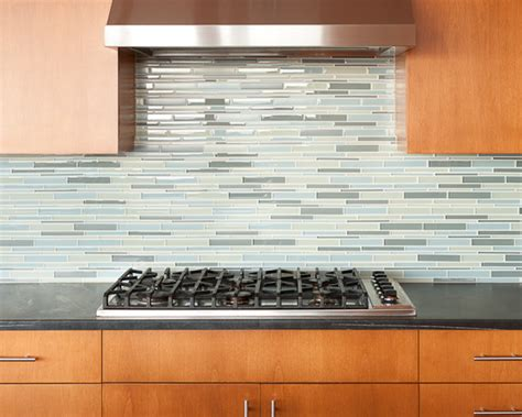 glass tiles in kitchen home design