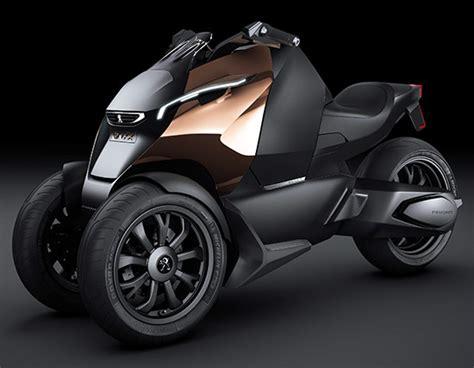 scooter 3 roues peugeot onyx concept le 3 roues du futur par peugeot