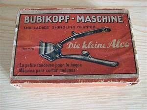 Vintage German Mini Manual Hair Clippers Alco In By