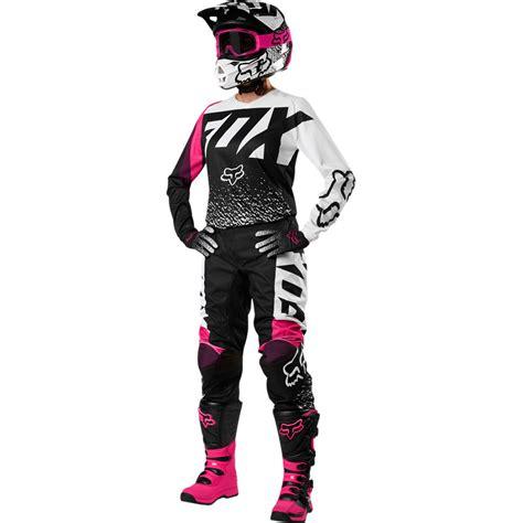 female motocross gear 2018 fox racing youth girls 180 gear kit black pink