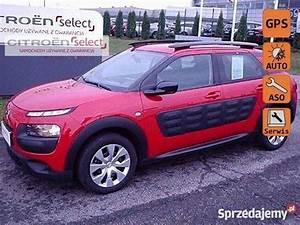 Sprzedany Citro U00ebn C4 Cactus Czerwony  U U017cywany 2014  Km 28