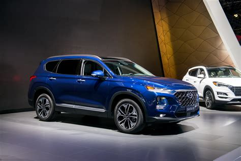 Santa Hyundai by 2019 Hyundai Santa Fe Launched With Diesel Hybrid