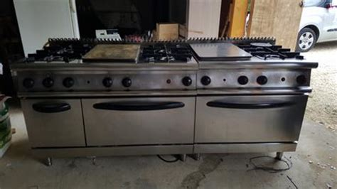 pianos de cuisson gaz professionnel en france belgique