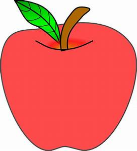 Apple Kawaii Clipart