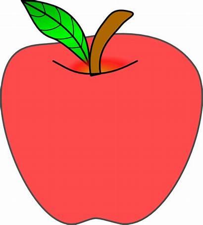 Apple Clip Clker Clipart Vector