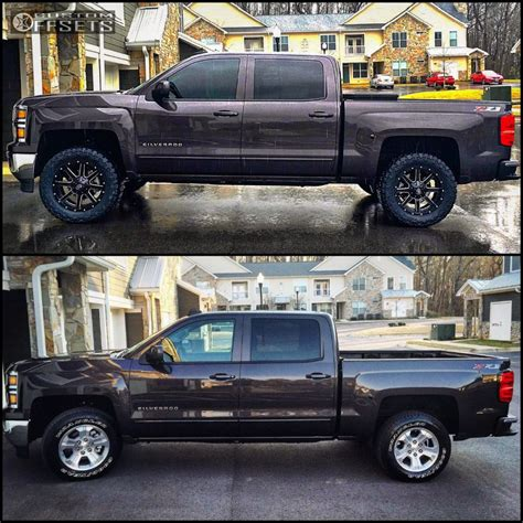 leveling kitstock wheelsoversized tires pics chevy 2015 silverado leveling kit 35 tires 2017 2018 best