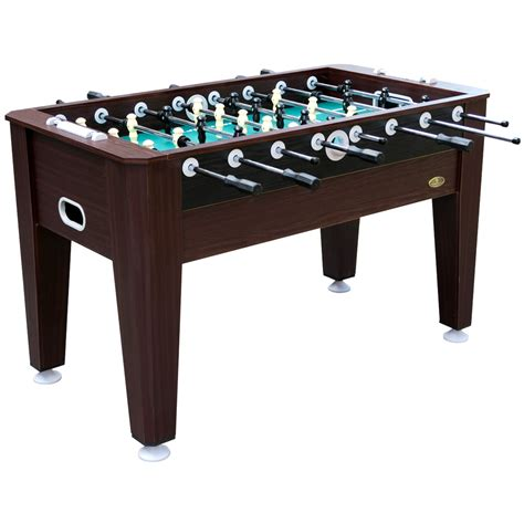 classic sport brand foosball table sportcraft 54 quot brentwood foosball soccer table