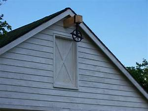 pulley at hay loft door hassman pinterest pulley With barn hoist system