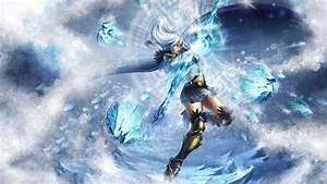 Ashe Fan Art - League of Legends Wallpapers