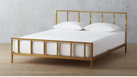 rooms to go mattress exchange policy alchemy bronze bed cb2