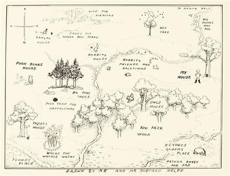 Shepard, Ernest The Original Map Of ||| Art ||| Sotheby's