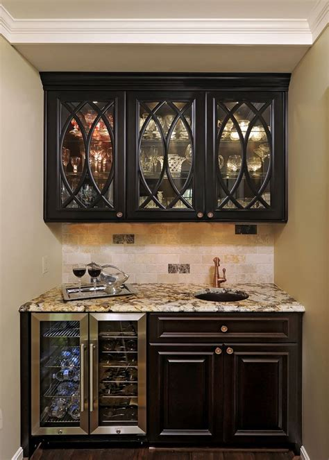 bar cabinet with fridge space butler pantry kitchen hall family room great room
