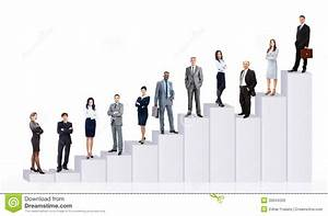 Business People Team And Diagram Stock Image