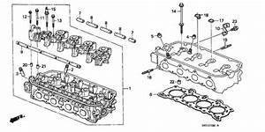 Cylinder Head For 1989 Honda Crx Coupe