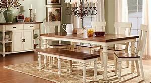 Hillside Cottage White 5 Pc Dining Room - Dining Room Sets