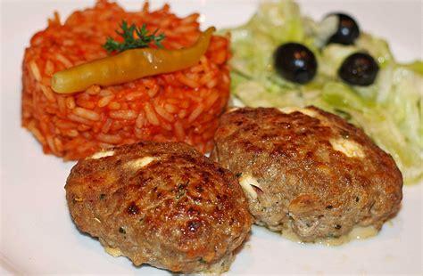 Original Griechische Kuche Rezepte by Griechisches Hacksteak Rezepte Chefkoch De