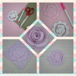 come creare fiori feltro come creare fiori in feltro arte ricamo