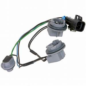 Ac Delco Tail Light Wiring Harness Lamp New Chevy