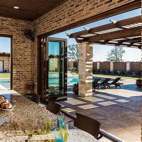 architect series traditional bifold patio door pella