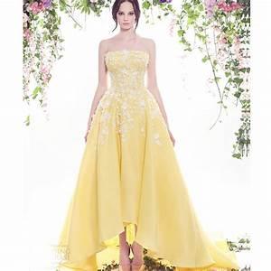online buy wholesale yellow white wedding dresses from With yellow dresses for wedding