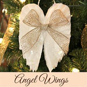 hometalk sparkling angel wings made from coffee filters With kitchen cabinets lowes with angel wings wall art sculpture plaque