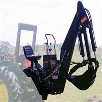 thumb excavator tractor attachment