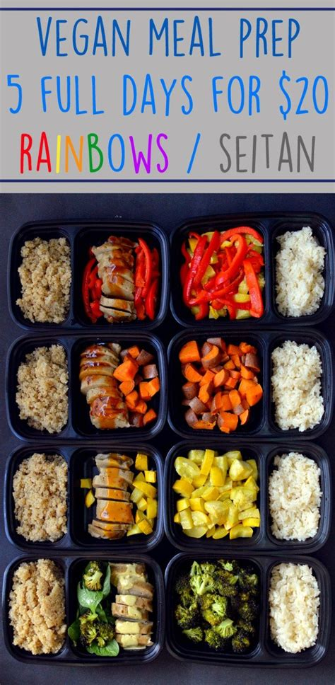 cheap vegan meal prep  full days finances cheap