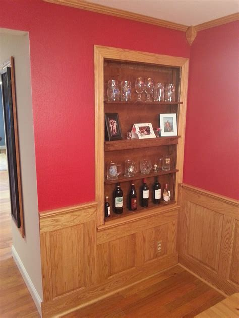 oak wainscoting wood wainscoting stained pinterest