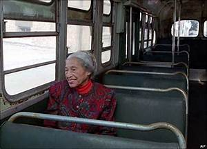 BBC NEWS | In Pictures | In pictures: Rosa Parks funeral