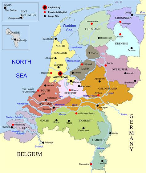 maps  netherlands holland map library maps