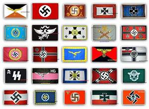 25 German Nazi Third Reich WWII Flags.. Free Delivery ...
