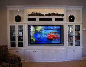 Built In Entertainment Centers & Custom Wall Unit Cabinets