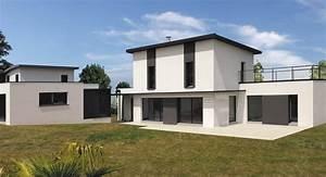 les maisons modernes sims 3 maison moderne au toit large With type de toiture maison 2 toit en thermotop