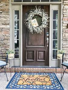 Small, Front, Porch, Ideas, For, Spring, And, Summer