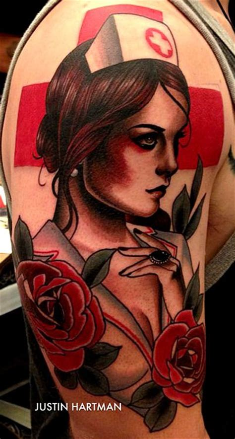 nurse tattoos amazing tattoo ideas