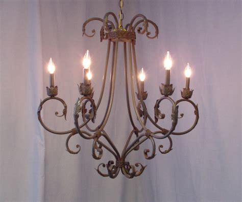 wrought iron chandeliers rustic interior exterior