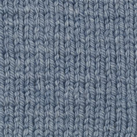 Cable Knit Yarn 150g   Blue   Knitting & Crochet