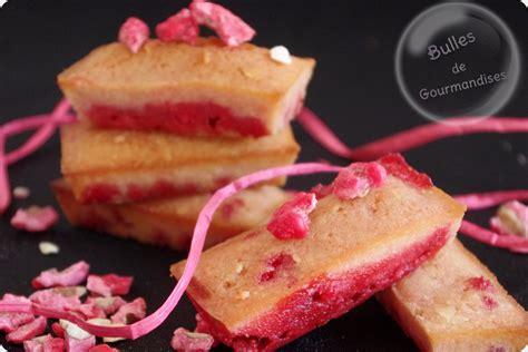 financiers aux pralines roses recettes de desserts