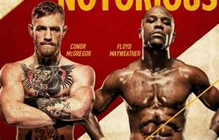 Conor McGregor vs Floyd Mayweather Fight