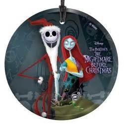 Nightmare Before Christmas Santa Jack and Sally Glass ...