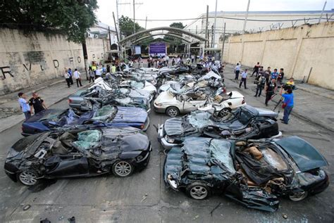 Philippines President Orders Destruction Of Dozens Of