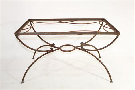 wrought iron small side table patio furniture