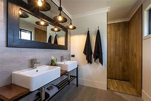 Such, A, Stunning, Ensuite, We, Love, The, Use, Of, The, Timber, Tiles, As, A, Feature