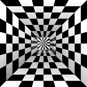 Fototapete Optische Täuschung : optische t uschung schwarzweiss design vektor fototapete ~ Watch28wear.com Haus und Dekorationen